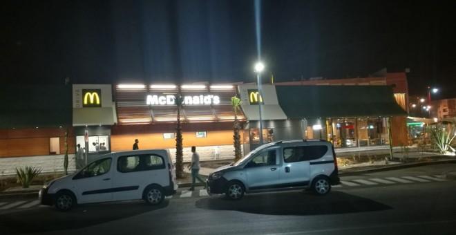 La franquicia de McDonald's abierta en El Aaiún, Sháhara occidental.