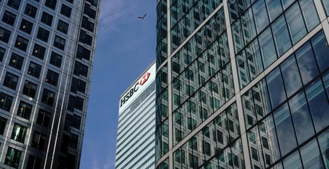 Sede del HSBC Bank en Londres.REUTERS/Kevin Coombs
