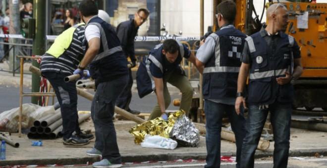 Muere un trabajador al caerle encima la varilla de una máquina perforadora en Madrid .- EFE / ARCHIVO