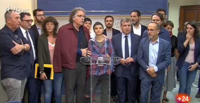 foto comparecencia gropos parlamentarios