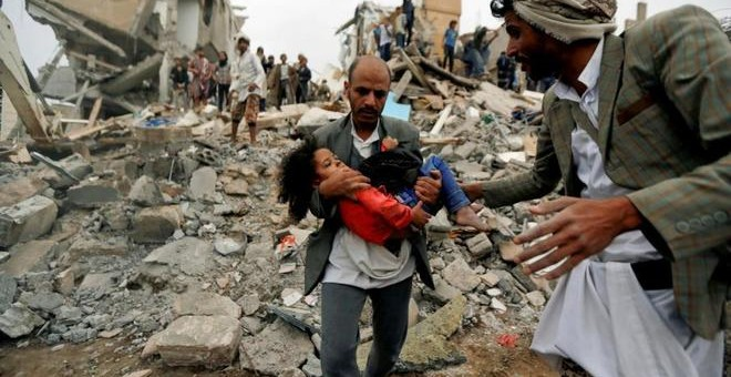 El mundo cierra los ojos a la matanza que Arabia Saudí desata en Yemen