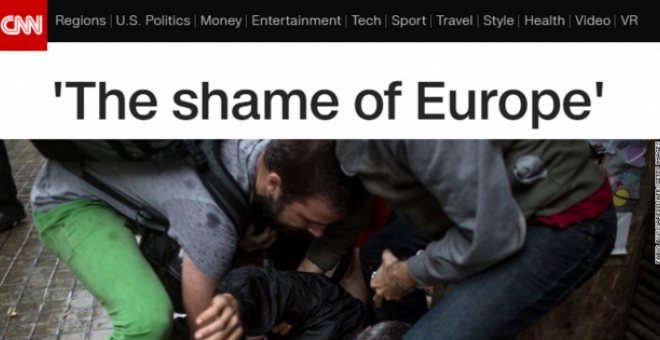The shame of Europe./CNN
