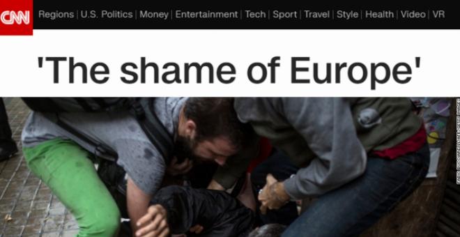 The shame of Europe./CNN