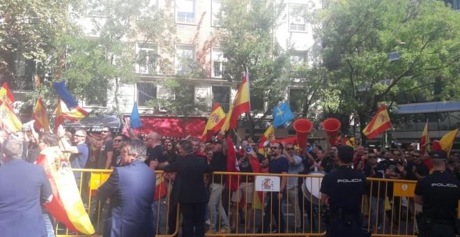 Manifestación de policías nacionales y guardias civiles en Madrid. / EP