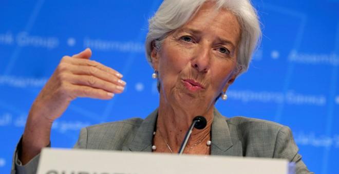 La directora del FMI Christine Lagarde./REUTERS