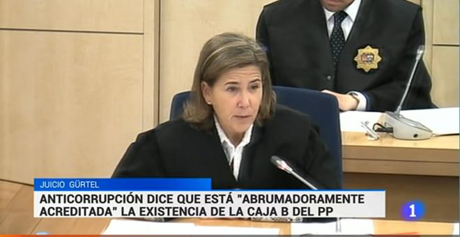 Los informativos de TVE no informan de las nuevas conclusiones del caso Gürtel hasta el minuto 22