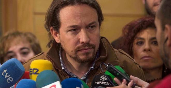 El secretario general de Podemos, Pablo Iglesias. - EFE