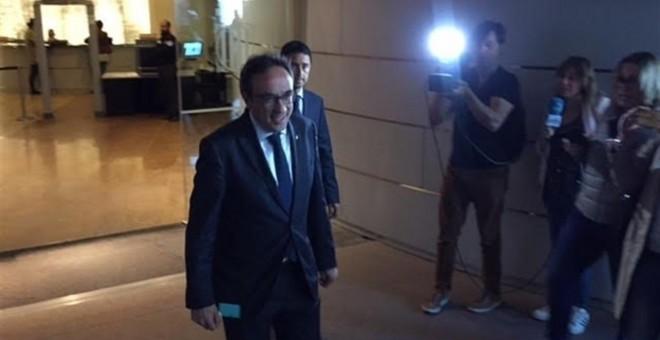 El exconseller de Territorio y Sostenibilidad cesado, Josep Rull. / EP