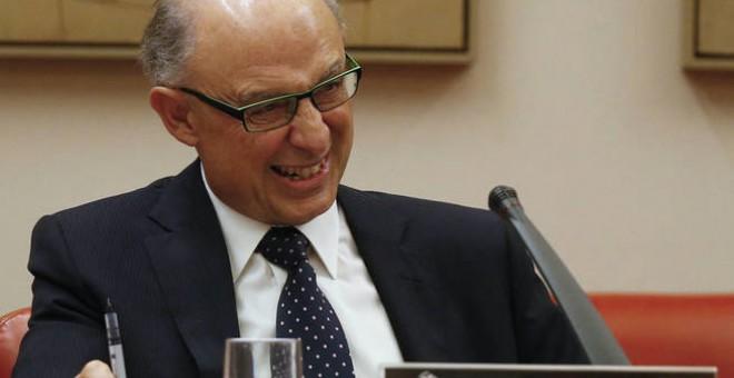 El ministro de Hacienda, Cristóbal Montoro, en una imagen de archivo. REUTERS