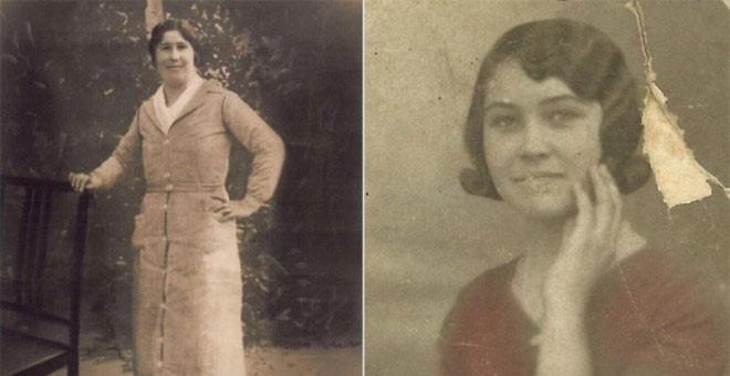 Josefa Romero y María Arriaza.