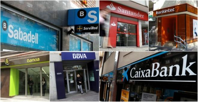 santander bbva caixabank bankia sabadell y bankinter