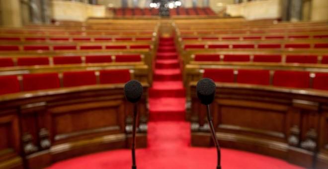 Imagen del Parlament catalán. Archivo EFE