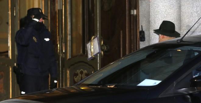El juez Pablo Llarena, a su llegada al Tribunal Supremo.. EFE/ Mariscal