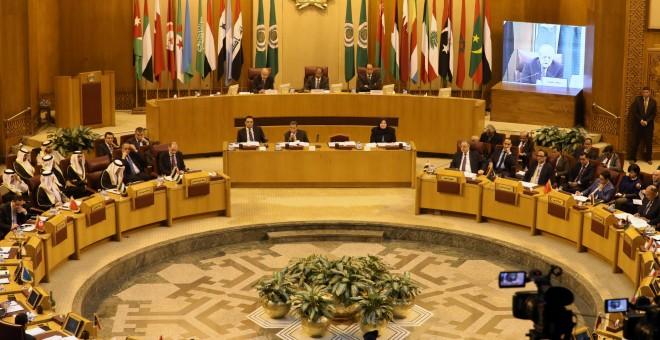 Reunión de la Liga Arabe en El Cairo./REUTERS