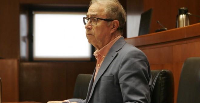El consejero aragonés de Hacienda, Fernando Gimeno
