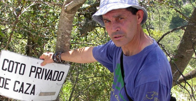 El ecologistas Juan Clavero. ECOLOGISTAS EN ACCIÓN
