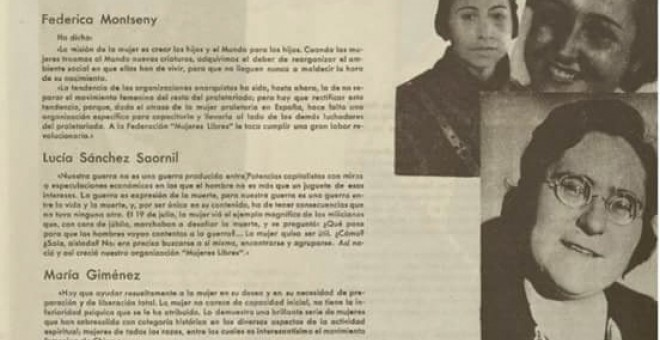 Revista Mujeres Libres, Barcelona, nº 11.