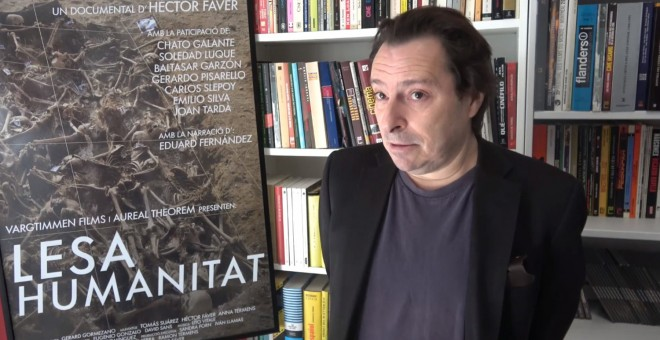 El director de 'Lesa Humanitat', de Héctor Fáver