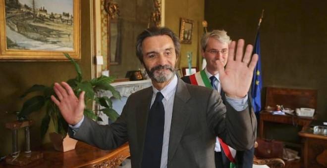 El político italiano Attilio Fontana.