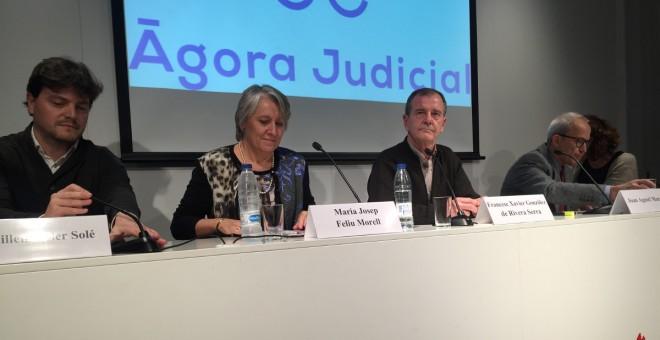 Jutges catalans creen una associació judicial per combatre la 'regressió' de les llibertats