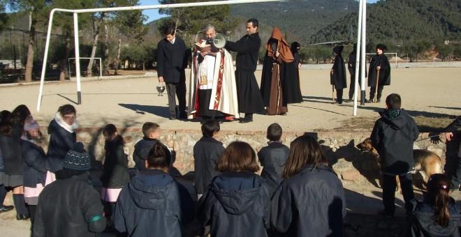 Misa en el colegio Corazón Inmaculado de María