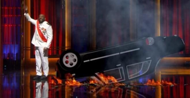 Carrero Negro, un personaje creado por Late Motiv, el show de Andre Buenafuente
