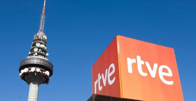 Sede central de RTVE en Madrid. EFE