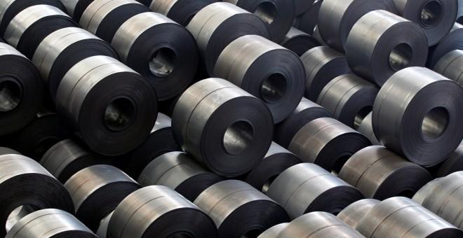 Royos de acero en una fábrica de Hyundai en la localidad coreana de Dangjin. REUTERS/Lee Jae-Won