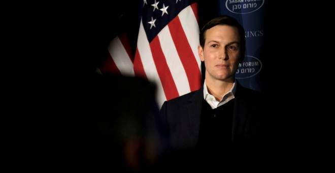 El yerno de Donald Trump y asesor de la Casa Blanca Jared Kushner en un acto de Washington. REUTERS/James Lawler Duggan