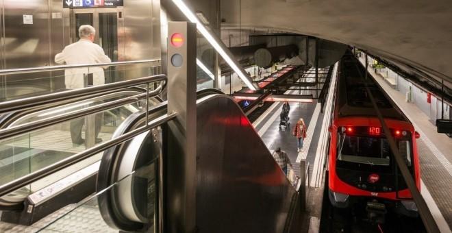 Una imagen del metro de Barcelona.- EP