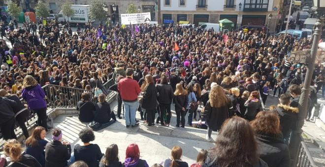 Panorámica de la Plaza Unamuno de Bilbao.- @m8euskalherria