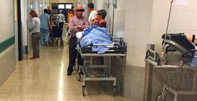 El servicio de Urgencias del Complejo Hospitalario Universitario de Santiago (CHUS).