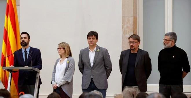 Acte institucional al Parlament de Catalunya / EFE Alberto Estévez