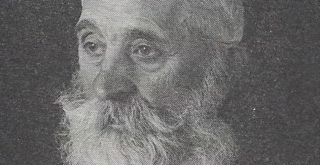Santiago Marcos Marcos, el poeta topo. / FOTOS: ARCHIVO CLAUDIO RODRÍGUEZ FER