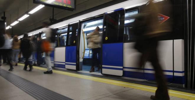 El metro de Madrid, en una imagen de archivo. EFE