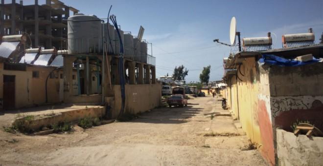 Campo de Nahar al Bared, en el norte de Líbano, donde hoy residen unos 15.000 palestinos. /ANDREA OLEA