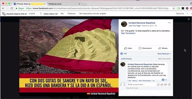 Grupo al que sigue en Facebook la secretaría judicial de Barcelona, testigo clave de la causa de sedición contra la cúpula de los Mossos, los líderes de la ANC y Omnium, los ex consellers y otros políticos catalanes.