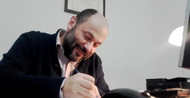 El abogado Manuel Pinto.-CEDIDA
