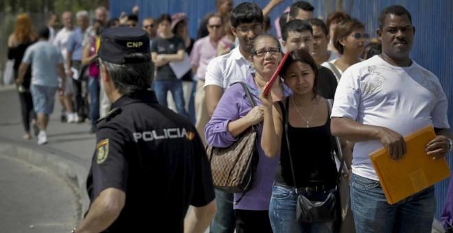 El número de concesiones de nacionalidad española a extranjeros se ha desplomado desde 2013.