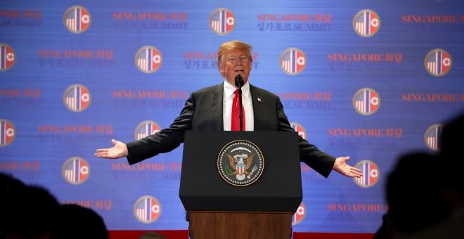 El presidente de los EEUU, Donald Trump./REUTERS