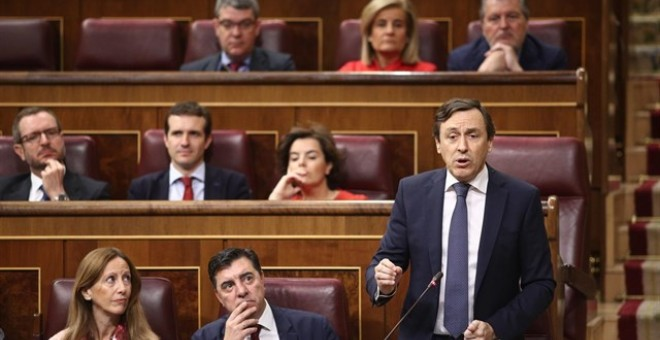 Rafael Hernando, portavoz del Partido Popular. - EUROPA PRESS