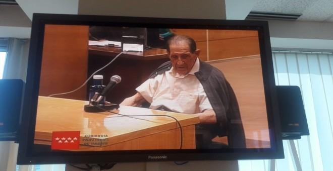 El doctor Vela, en el juicio por el caso de los bebés robados. / Europa Press