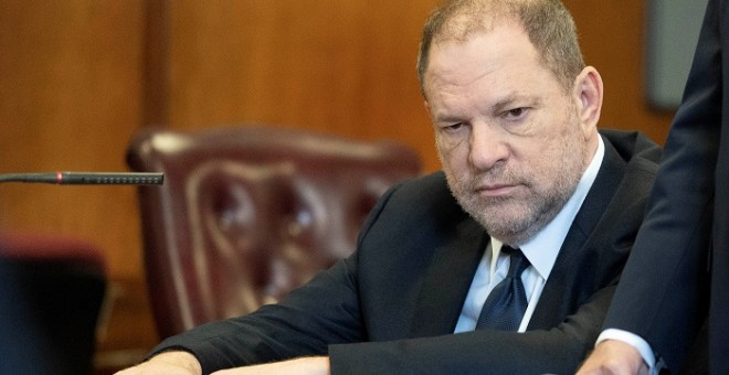 Harvey Weinstein durante su comparecencia en Manhattan. / REUTERS