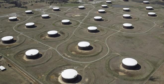 Tanques de crudo en Oklahoma./REUTERS