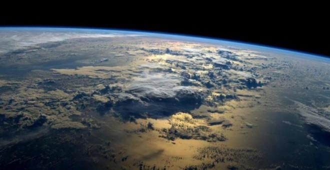 La Tierra vista desde el Espacio.- EFE