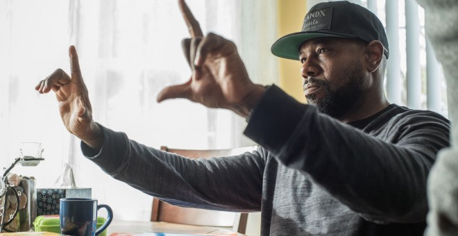 El director Antoine Fuqua, durante el rodaje de 'The Equalizer 2'
