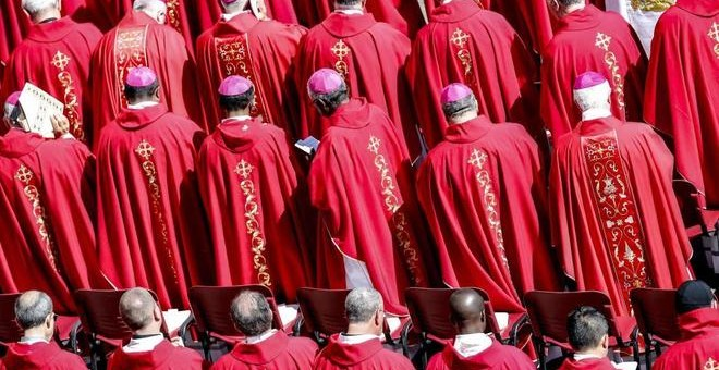 La Iglesia chilena atraviesa una dura crisis a causa de los abusos cometidos por los miembros del clero- EFE /GIUSEPPE LAMIEFE