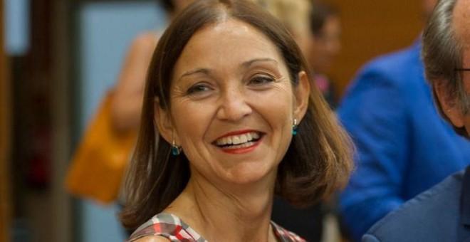 Reyes Maroto, ministra de Industria, Comercio y Turismo. Fuente: Flickr PSOE Madrid)