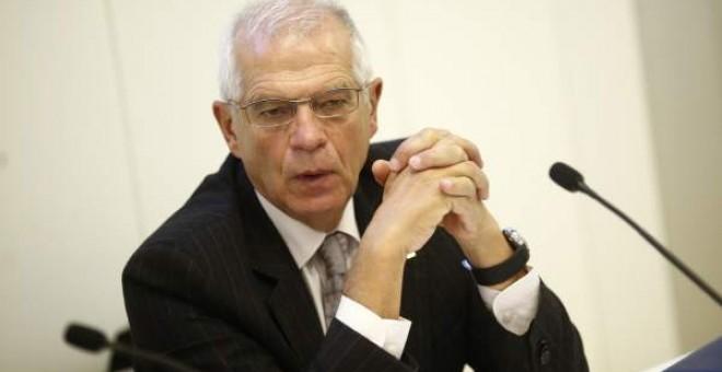El ministro de Asuntos Exteriores Josep Borrel ha confirmado que el Gobierno mantendrá el contrato con Arabia Saudí - Europa Press