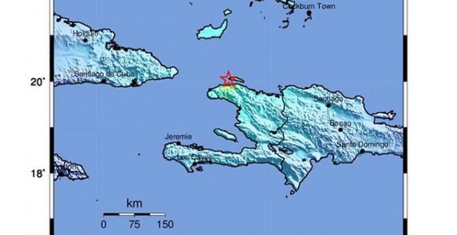 Image result for terremoto de 5,9 grados de magnitud  en Haiti anoche